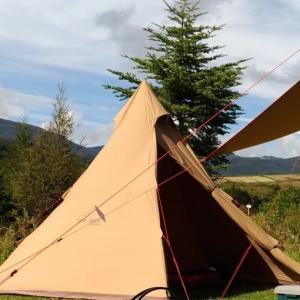 「そうだ、キャンプ行こう。」と思ったら揃えたい初心者向け【テント・タープ】