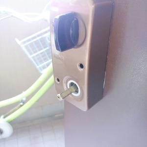 自宅の鍵交換。シンプルイズベスト。