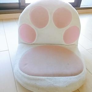 100円で買った肉球座椅子を綺麗にしたい