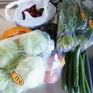 野菜が高騰しておる・・・!!!