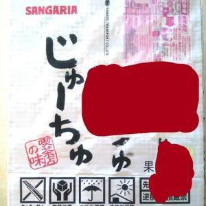 当選報告!サンガリア「みっくちゅじゅーちゅ」1ケース
