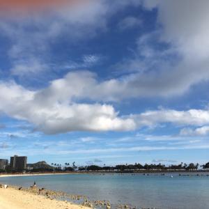 ぶらりハワイの旅②お散歩と夕食編。