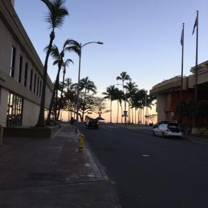 ぶらりハワイの旅④ 朝散歩〜朝食編。