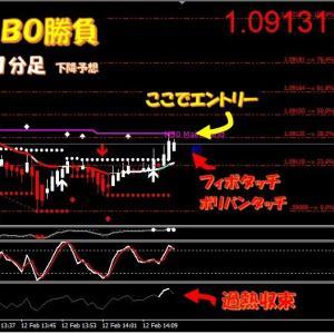 新着★FX取引+1万9800円★BO取引3戦3勝+127,500円