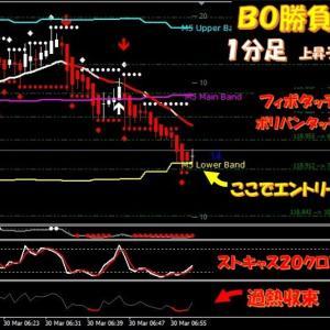 新着★FX取引+7万8700円★BO取引3戦3勝+127,500円