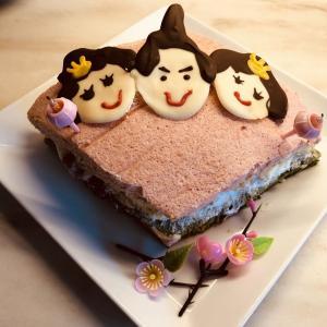 ソヨンちゃん家族とお雛様のお祝い