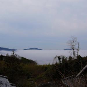 昨日の【雲海】の後半など
