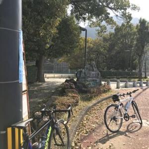 近場をウロウロと_崖に自転車発見でちょい焦る。。