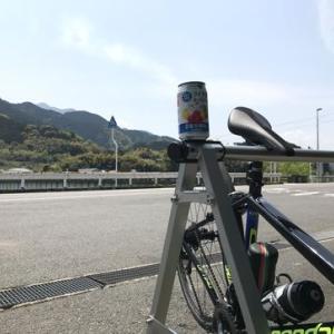 石鎚山ロープウェイ乗り場まで_超低速なのにあーしんどい。。。