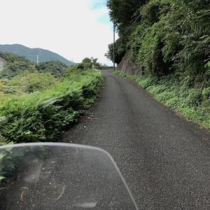 神奈川 谷峨駅 山の道