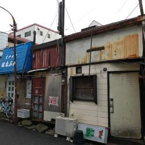 鶴見 入船カフェー跡 本町通り商店街 廃墟街