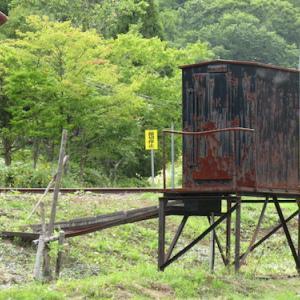 幌内炭鉱鉄道跡旧 三井美唄炭鉱事務所 美唄鉄道東明駅舎