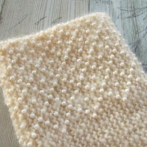 片方編み上がり