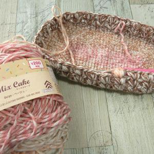 編み散らかす
