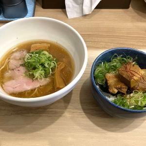 麺処まるはBEYOND 南平岸に移転オープン ~中華そば&豚バラ角煮丼~