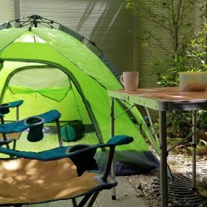 キャンプに行けなくてもキャンプする!