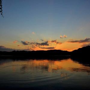 片上湾の夕景 再び