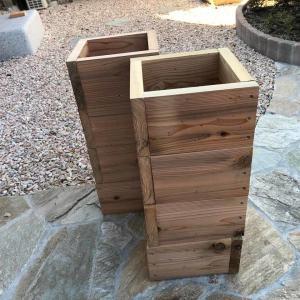 重箱巣箱の完成
