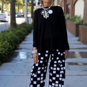 世界の素敵なマダム達のファッション
