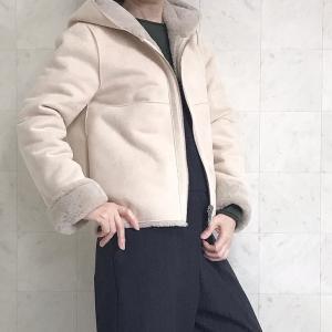 【セレクト品】今年はムートン!!幸せな冬を過ごせるコート