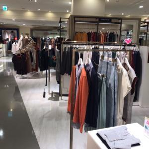 大阪の百貨店のSサイズコーナーは人気ないのかい⁉︎