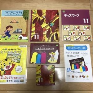 【こどもちゃれんじ すてっぷ】11月号(4〜5歳向け)☆ご紹介