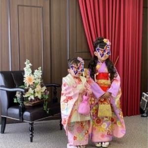 【七五三】7歳&3歳★姉妹の七五三撮影へ☆スタジオアリスの軌跡・着物編