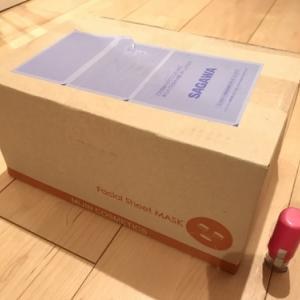 【フェイスマスク】個包装100枚セット★apm24★3070円のフェイスマスクを試してみました!