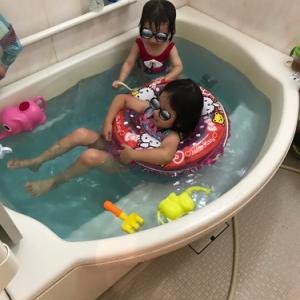 【自宅で遊ぶ④】こどもとお風呂を楽しむ5つの方法★夏休みは自宅で水遊びタイム!