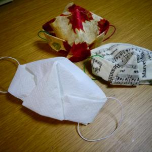 キッチンペーパーで作る折り紙マスク