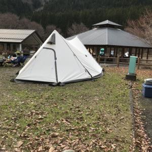 ツインピルツにフルインナー付けてお籠りキャンプ!!