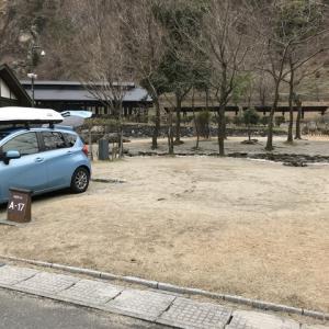 コンパクトカーでのキャンプ ラストラン!!