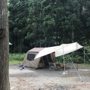 ogawa オーナーロッジタイプ52Rで初キャンプ!!(2020年8月回想)