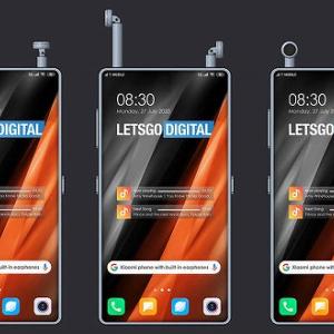 【朗報】Xiaomiさん、ワイヤレスイヤホンを収納できる画期的なスマホを開発中