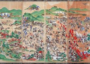 日本人「関ヶ原の戦いの陣図を外国人に見せたろ!!」