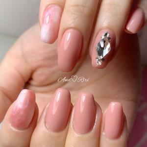 ピンクのバレリーナネイル♡       葛飾区ネイルサロン アンドリリ