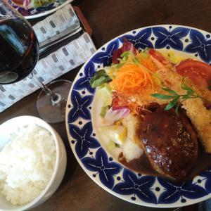 浅井食堂さんのランチ