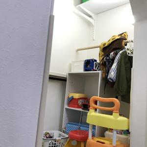 【片付け】階段下空間をニトリで子供スペースに改造【Ver.3歳】