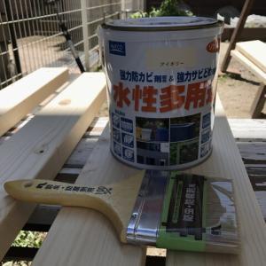 【DIY】パーゴラ風?自転車小屋作り【後編】