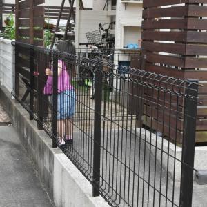 【DIY】メッシュフェンス取り付け【外構】