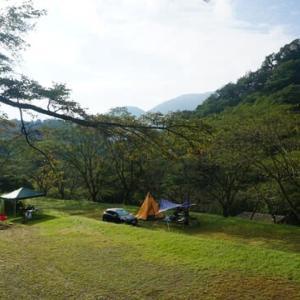 7か月ぶりのキャンプ
