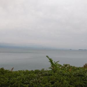 曇天のとびしま海道ライド