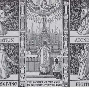 ミサ聖祭の重要な「四つの目的」
