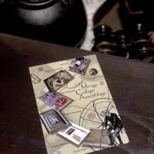 コラージュと古道具の展示会[ Mirage Collage Assemblage vol.8 ]