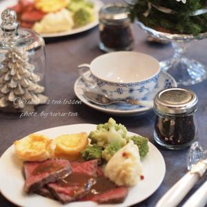クリスマス紅茶レッスン(ランチ&デザート編)