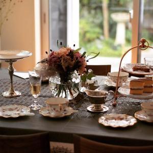 9月 美味しい紅茶の淹れ方と三大銘茶×お菓子のマリアージュ