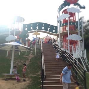 搭乗前の時間調整に…子連れに最高な那覇の公園