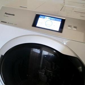 新型のパナソニックドラム式洗濯乾燥機レビュー!洗剤・柔軟剤自動投入&スマホで洗濯、ナノイーX機能で花粉症対策にもおすすめ