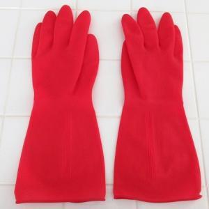 おしゃれなキッチン用ゴム手袋「マリー ゴールド」♪食器洗いにも使いやすいから料理研究家も愛用者多し!