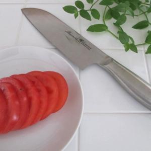 包丁は刃と柄の一体型がおすすめ!ヘンケルスの三徳包丁は切れ味抜群のステンレス製で食洗機も可♪